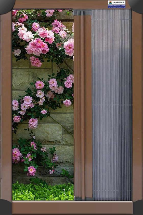 艺术折叠纱门是四边是金属边框30MM宽,中间有一根竖着的金属拉梁,纱是经过特殊压制处理的折叠纱,就像手风琴一样的效果,也似小时候使用的折叠扇子,高档的艺术折叠纱门,采用加宽加厚的金属型材,加厚的防踩底框(宽度:42MM),组合精制推拉绳(艺术折叠纱窗纱门推拉绳是主要配件,质量差的线绳容易断)